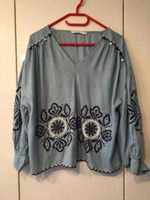 Jeanstunika von Zara