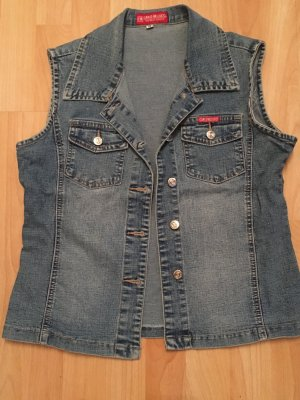 Denim Vest blue