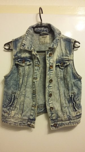 Denim Co. Denim Vest pale blue