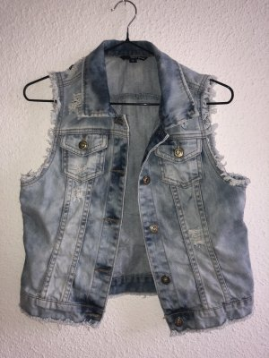Tally Weijl Denim Vest multicolored