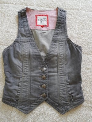 Esprit Denim Vest light grey