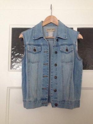 Jeansweste   hellblau   John F. Gee   Fashion   Blogger   Hipster   Jeans