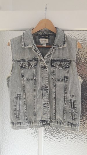 Jeansweste im 90er-Vintage-Look Acid Wash