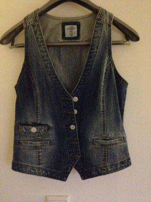 Jeansweste in Blau H&M Gr.38
