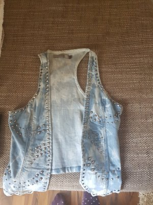 & other stories Denim Vest pale blue