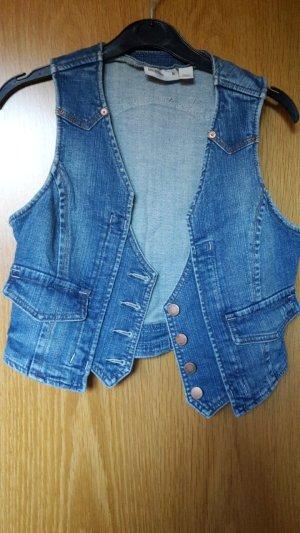 Jeansweste ohne Ärmel von Mango in M 38 (passt auch einer S 36)