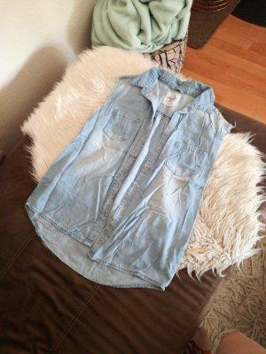 Jeansweste, Oversize