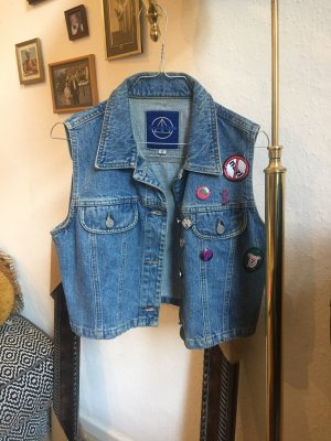 Jeansweste Punk Pins