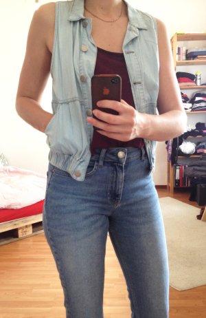 Jeansweste Vintage-Look