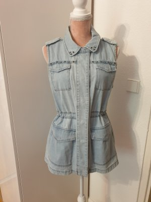 H&M Denim Vest light blue-azure