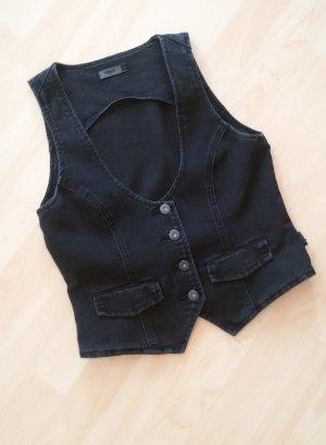 Jeansweste von Only schwarz