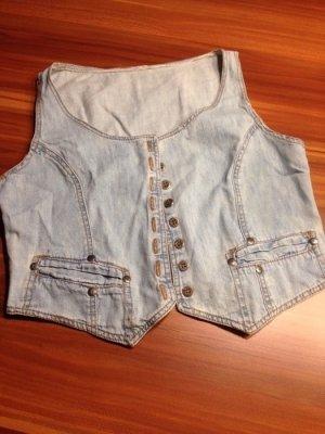 Jeansweste weich süss