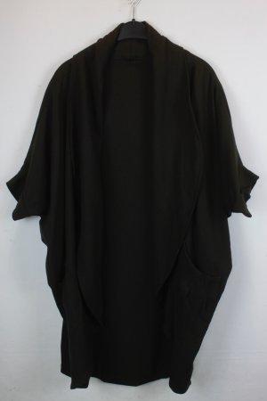 Jeeij Kimono Gr. OS olivgrün mit kurzen Ärmeln (18/6/087)