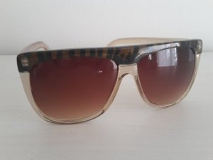 Jeepers Peepers asos Sonnenbrille braun/Tiger ace viu ray