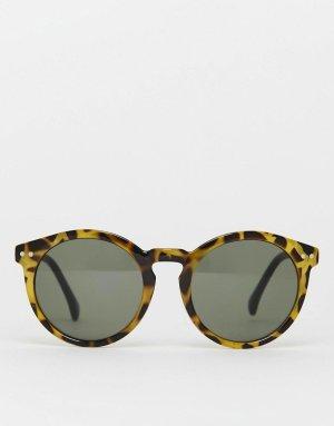 Jeepers Peepers Runde Sonnenbrille Schildpatt cognac/schwarz le specs ray