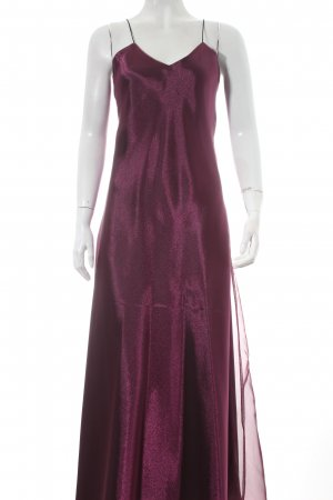 Jeff Gallano Abendkleid purpur-schwarz Elegant