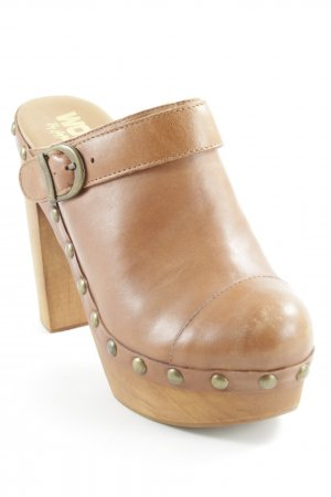 "Jeffrey Campbell Heel Pantolettes ""Woodies"""
