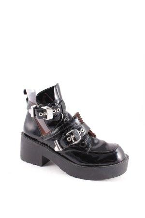 Jeffrey Campbell Boots schwarz extravaganter Stil