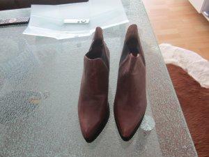 Jeffrey Campbell Handmade Ibiza Last Stiefeletten Boots Wedges braun gr. 38