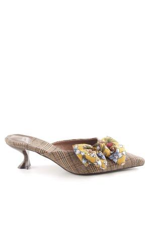 Jeffrey Campbell High Heel Sandaletten Allover-Druck extravaganter Stil