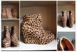 jeffrey campbell /leo boots / 38