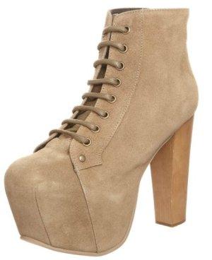 Jeffrey Campbell LITA - High Heel Stiefelette 40 beige