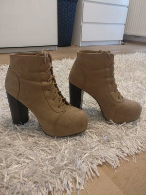 H&M Platform Booties multicolored