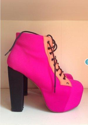 jeffrey campbell / lita / neopren pink