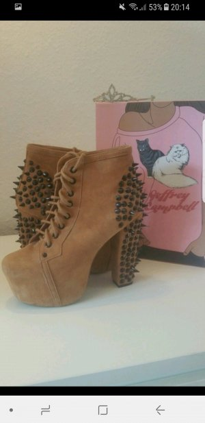 Jeffrey Campbell Lita Spikes in beige