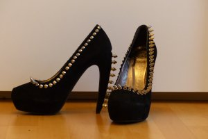 Jeffrey Campbell Madame Pumps mit Nieten und Spikes Gr. 39