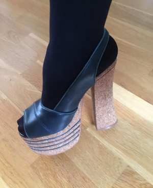 Jeffrey Campbell Plateau in blau ..
