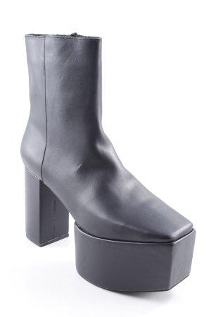 Jeffrey Campbell Plateau-Stiefeletten schwarz extravaganter Stil