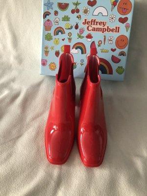 Jeffrey Campbell red shiny Regenboots Gr.41