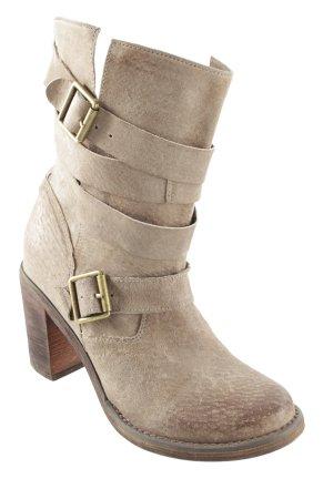 Jeffrey Campbell Schlüpf-Stiefeletten graubraun Farbverlauf schlichter Stil