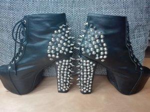 Jeffrey Campbell Schuhe Lita Spikes (mit Nieten) 40 schwarz
