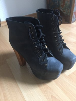 Jeffrey Campbell Stiefelette in black