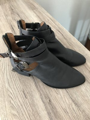 Jeffrey Campbell Cut Out Booties black