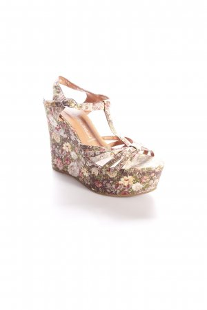 Jeffrey Campbell Wedges Sandaletten florales Muster