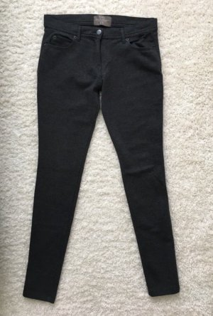 Zara Basic Jeggings grigio scuro