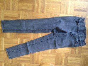 Jeggings dark grey cotton