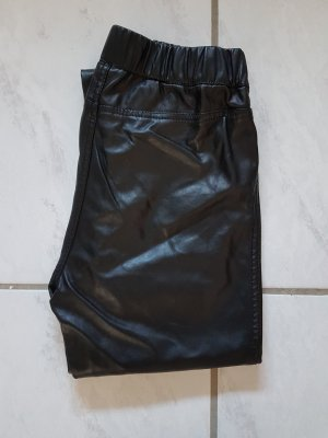 Hailys Leather Trousers black