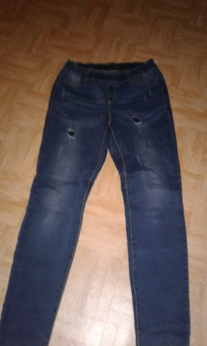 Jeggings blau Gr.36 Arizona destroyed