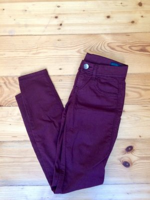 Jeggings bordeaux W25