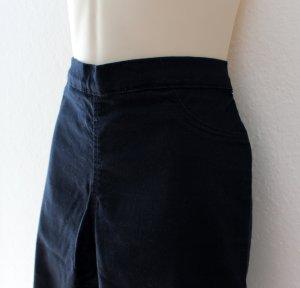 H&M Jegging bleu foncé tissu mixte