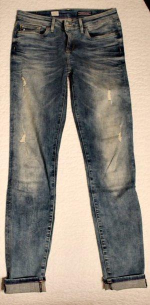 Hilfiger Denim Stretch Jeans azure-mauve cotton
