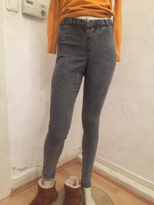 Jeggings grau H&M Gr 34 (XS)