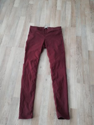 H&M Jegging brun rouge