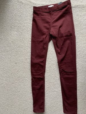 Jeggings H&M weinrot Gr. 36