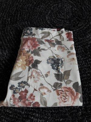 Jeggings/Hose Gr. 36 Stretch Blumen ♡Frühling♡
