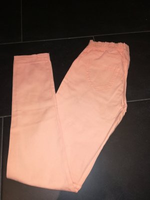 Jeggings in apricot